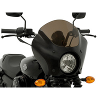 Memphis Shades MEM-MEM7321 Gauntlet Quarter Fairing for Dyna Low Rider 14-17/Sportster 1200C 11up/Street 500 15up