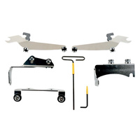 Memphis Shades MEM-MEM8914 Windshield Mount Kit for Kawasaki Vulcan VN900 Classic 06-Up