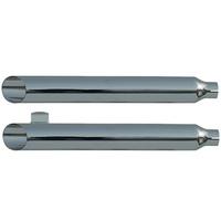 """Rush 24204-175 Dyna Chrome Series Muffler Baloney Cut w/1.75"""" Baffle for FXR 82-94, 99-2000"""