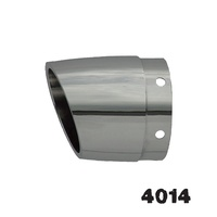 Rush 4014 Tapered w/Angle Cut 4000 Series Tips (Multiple Mounting Options) for 15,19,21 Series Mufflers