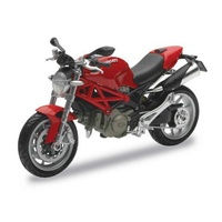 Maisto 1:12 Scale Ducati Monster 1100 2010 (Red) Diecast Model