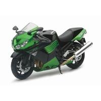 Maisto 1:12 Scale Kawasaki ZX-14 2011 (Green) Diecast Model