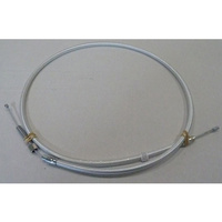 """Magnum Shielding MS-32026HE Sterling Chromite II Clutch Cable CL=59"""" 1 Piece TL=5-1/3"""" Big Twin'68-86 4 Speed"""