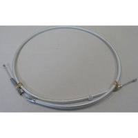 """Magnum Shielding MS-3202HE Sterling Chromite II Clutch Cable CL=52"""" 1 Piece TL=5-1/3"""" for Big Twin 68-86 w/4 Speed"""