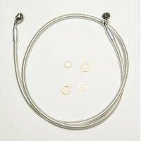 "Magnum Shielding MS-36150SW Sterling Chromite II E-Z Align Single Disc Front Brake Line 50"" x 12mm x 35Deg"