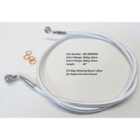 "Magnum Shielding MS-36848SW Sterling Chomite II E-Z Brake Line 48""x 10mm x 35Deg Top & 10mm x 60Deg Lower XG500'15up"