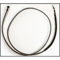 "Magnum Shielding MS-41474 Black Pearl Hydraulic Clutch Line 74"" x 10mm x 180Deg FLH'13up & all CVO'13up Models"