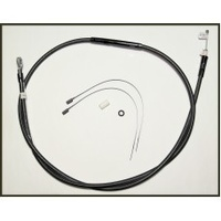 "Magnum Shielding MS-42136HE Black Pearl Clutch Cable CL=67"" BCL=32-15/16"" TL=2 13/16"" Big Twin'87-06 5 Speed (Exc FXR)"