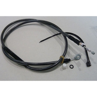 "Magnum Shielding MS-42258HE Black Pearl Clutch Cable CL=63"" BCL=20-3/4"" TL=2-13/16"" XL'04up"