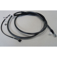 """Magnum Shielding MS-422810 Black Pearl Clutch Cable CL=67"""" BCL=31 1/2"""" TL=3-1/8"""" for Softail 07-14/Dyna 06-17"""
