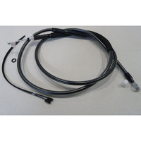 """Magnum Shielding MS-422812 Black Pearl Clutch Cable CL=69"""" BCL=31 1/2"""" TL=3-1/8"""" for Softail 07-14/Dyna 06-17"""