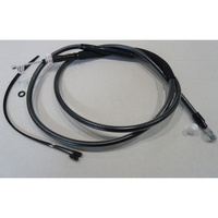 """Magnum Shielding MS-422820 Black Pearl Clutch Cable CL=77"""" BCL=31 1/2"""" TL=3-1/8"""" for Softail 07-14/Dyna 06-17"""