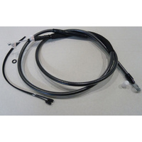 """Magnum Shielding MS-42286 Black Pearl Clutch Cable CL=63"""" BCL=31 1/2"""" TL=3-1/8"""" for Softail 07-14/Dyna 06-17"""