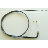 """Magnum Shielding MS-44112 Black Pearl Idle Cable CL=41-1/2"""" Elbow=90o TL=4-3/4"""" Thread Big Twin'90-95"""