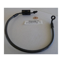 Magnum Shielding MS-AS47007 Black Pearl ABS Single Disc Lower Brake Line XL'14up Stock Length (Exc XL'1200V)
