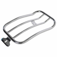 Motherwell MWL-118 Chrome Solo Seat Luggage Rack for for Low Rider 18-Up