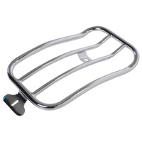 Motherwell MWL-151-018 Chrome Solo Luggage Rack for Softail Slim 18-Up