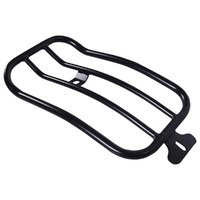 Motherwell MWL-151-018B Matte Black Solo Luggage Rack for Softail Slim 18-Up