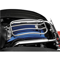 Motherwell MWL-430 Chrome Solo Seat Luggage Rack for Touring 97-Up