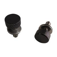Motherwell MWL-PC-4014GB-2 Low Profile Thumbscrew Black (Pair)