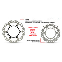 DNA Pro Series Rear Brake Rotor - HONDA