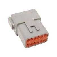 Namz NMZ-DP-12G Deutsch Plug 12-Wire Grey w/Wedgelock