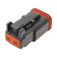 Namz NMZ-DP-2B Deutsch Plug 2-Wire Black w/Wedgelock