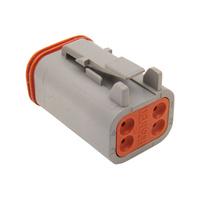 Namz NMZ-DP-4G Deutsch Plug 4-Wire Grey w/Wedgelock