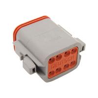Namz NMZ-DP-8G Deutsch Plug 8-Wire Grey w/Wedgelock
