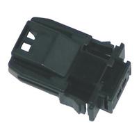 NAMZ Custom Cycle Products NMZ-NJ-2P51 MX-1900 2-Position Pin Housing Black