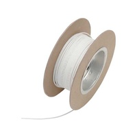 "Namz NMZ-NWR-9-100 18-Gauge Wire White 100"" Foot Roll"
