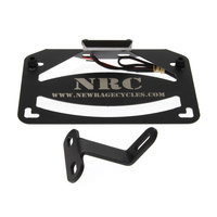 New Rage Cycles NRC-HDFE-FEB Replacement License Plate Bracket Assembly For NRC-HD500FE