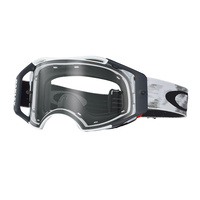 Oakley Airbrake MX Goggles Speed Matte White w/Clear Lens