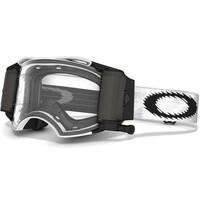 Oakley Airbrake MX Goggles Race Ready Matte White w/Clear Lens