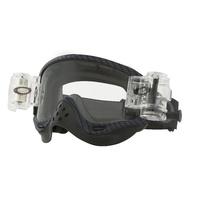 Oakley O-Frame MX Goggles Race-Ready True Carbon Fiber w/Roll-Off Clear Lens