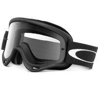 Oakley O-Frame MX Goggles Matte Black w/Clear Lens