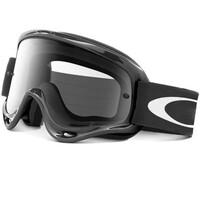 Oakley O-Frame MX Goggles Jet Black w/Clear Lens
