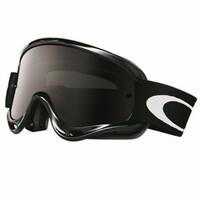 Oakley O-Frame MX Goggles Jet Black w/Dark Grey Lens