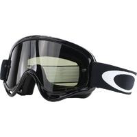 Oakley O-Frame MX Goggles Sand Jet Black w/Dark Grey Lens