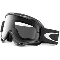 Oakley XS O-Frame MX Goggles Jet Black w/Clear Lens