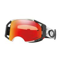 Oakley Airbrake MX Goggles Speed Matte White w/Prizm Torch Iridium Lens
