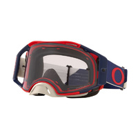 Oakley Airbrake MX Goggles B1B Red Navy w/Prizm Low Light Lens