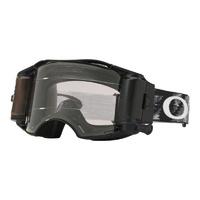Oakley Airbrake MX Goggles Jet Black Race Ready w/Prizm Low Light Lens