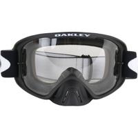 Oakley O-Frame 2.0 MX Goggles Matte Black w/Dark Grey & Clear Lens