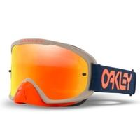 Oakley O-Frame 2.0 Pro Goggles Factory Pilot RB w/Fire Iridium Hi Impact Lens