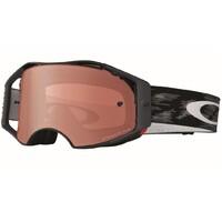 Oakley Airbrake MX Goggles Jet Black w/Prizm Bronze Lens