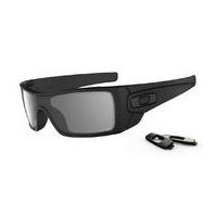 Oakley Batwolf Sunglasses Matte Black w/Grey Polarized Lens