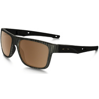 Oakley Crossrange Sunglasses Woodgrain w/Prizm Tungsten Polarized Lens