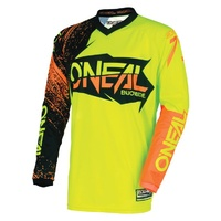 Oneal 2018 Element Youth Jersey Burnout Black/Yellow/Orange