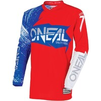 Oneal 2018 Element Jersey Burnout Red/White/Blue